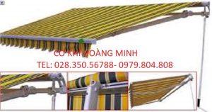 Mái hiên di động quận Tân Bình