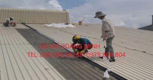Mái tôn chống nóng quận 9